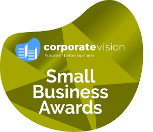 Corporate Vision Small Business Awards Logo